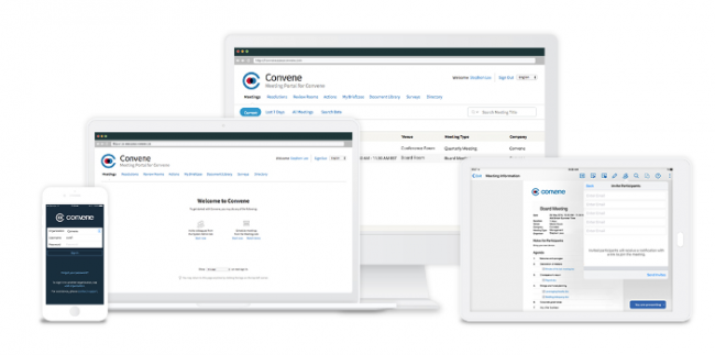 Azeus Convene as a Board Portal Solution