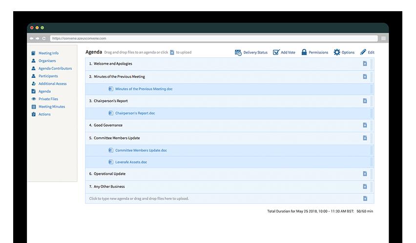 Board Management Software | Azeus Convene